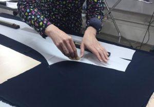 Процесс пошива домашнего платья своими руками