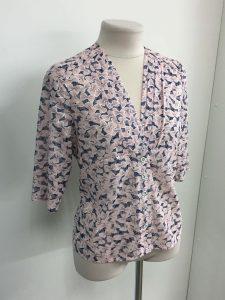Фото летней женской рубашки сшитой на заказ в Краснодаре