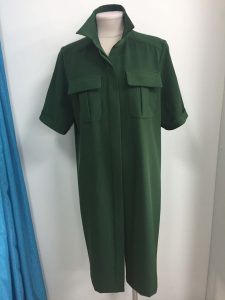 Фото платья зеленого сшитого в Краснодаре